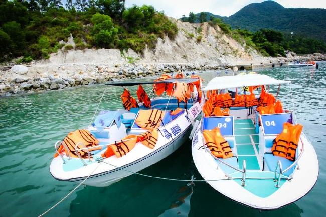 Giá vé thuê tàu cano cao tốc đi Cù Lao Xanh - Hòn Khô - Kỳ Co là bao nhiêu ?