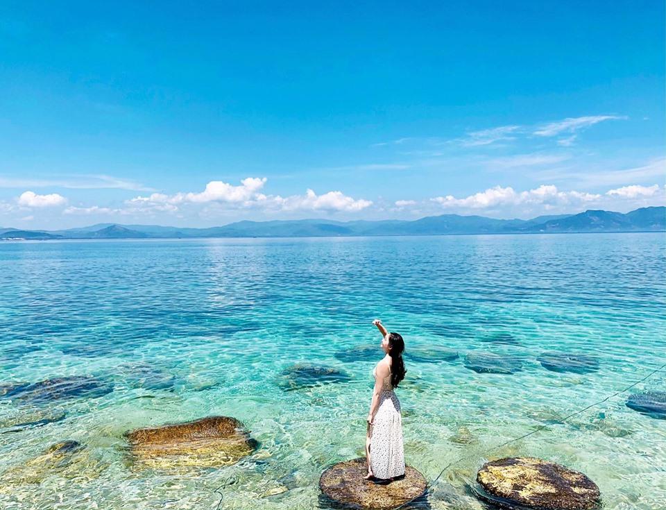 Review đảo Cù Lao Xanh Quy Nhơn hình cực đẹp