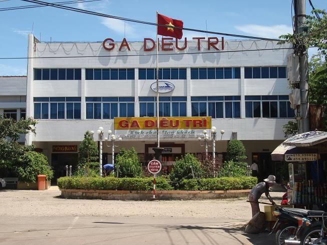 Ga Diêu Trì ở đâu? Đi đến Quy Nhơn bằng cách nào? Giờ tàu? Số điện thoại bao nhiêu?
