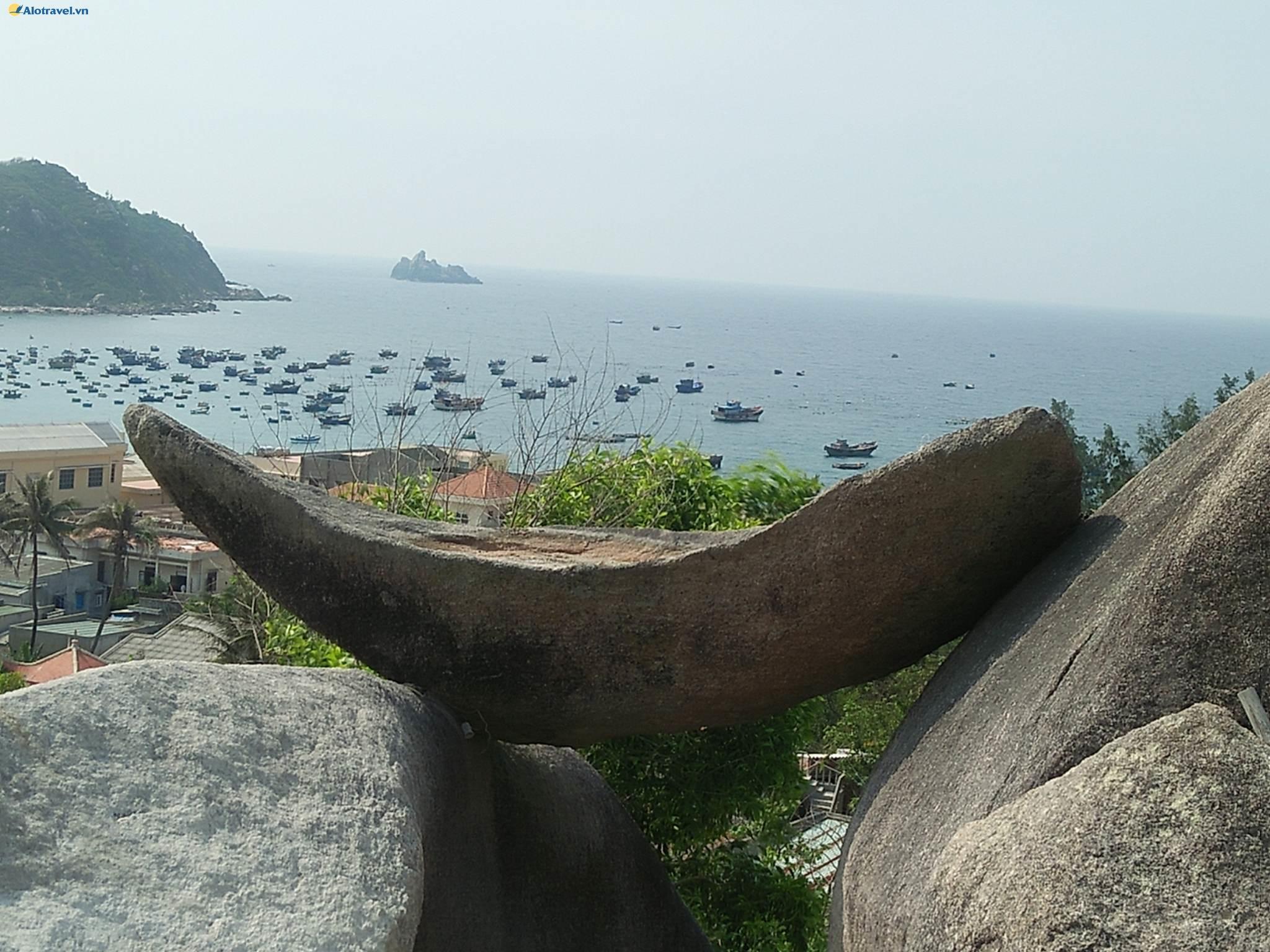 Chùa ở Cù Lao Xanh